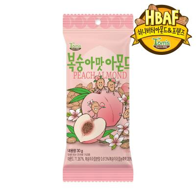 [길림양행] 복숭아맛 아몬드 30g