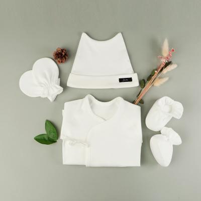[조아뜨] 퓨어 4종 SET 배냇 모자 손발싸개 사계절