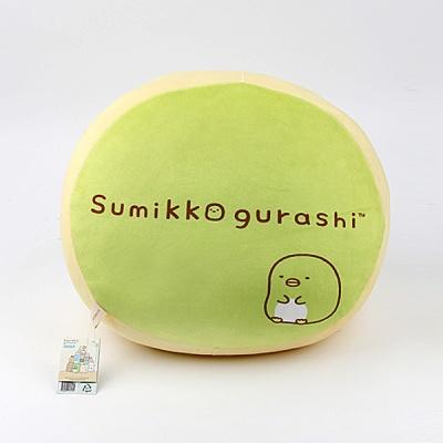 스미코구라시 모찌 민무늬 쿠션-펭귄(35cm)