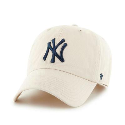 MLB모자 뉴욕 양키즈 내추럴 네이비빅로고