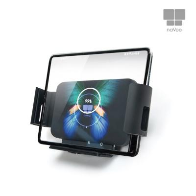 나비 NV66-WCC10Q 차량용 폴더블폰용 무선고속충전기