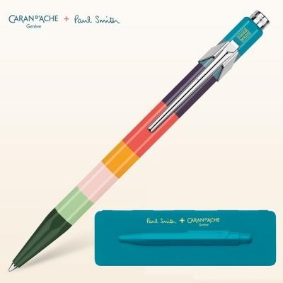 까렌다쉬 849 폴 스미스3 볼펜 에디션 668 Pea...Blue