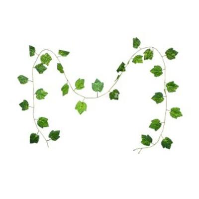 샤인빈 호박잎 넝쿨 장식 조화 인테리어디자인