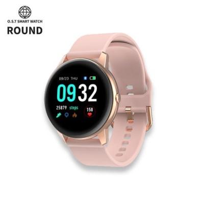 [오에스티] Smart Watch Round Pink