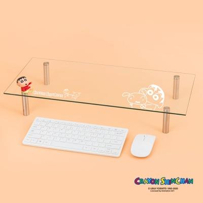 짱구 피규어 강화유리 모니터받침대 CMS-G01
