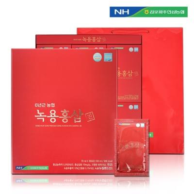 김포파주인삼농협 6년근 녹용홍삼진 (70ml x 30포)