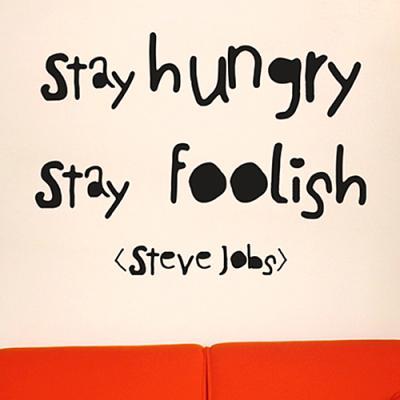 stay hungry_2 (좌우명시리즈)(완제품B) 그래픽스티커 타이포 포인트 시트지