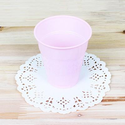 파티용 칼라 컵-핑크(10개입)