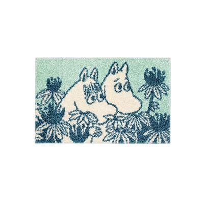 러그 moomin rug hiding mint