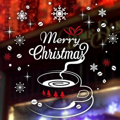 제제데코 크리스마스 눈꽃 스티커 장식 CMS4J241