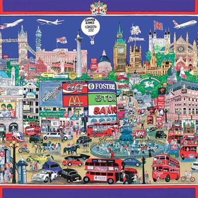 시티나이트 런던 [500피스/직소퍼즐/풍경/PL804]
