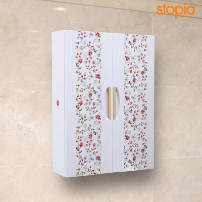 스토피아 700 플라워 욕실장(화이트)