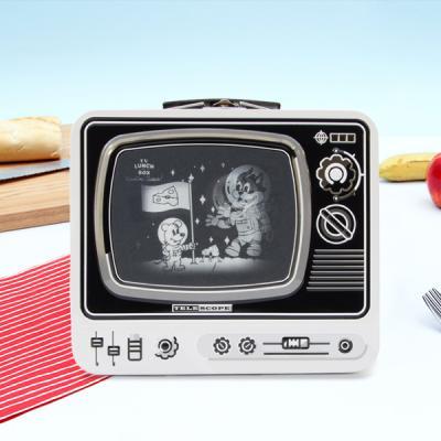 [썩유케이] TV 런치박스 도시락 가방 화이트