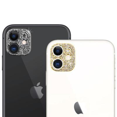 메탈 큐빅라인 카메라렌즈필름(아이폰11프로맥스)