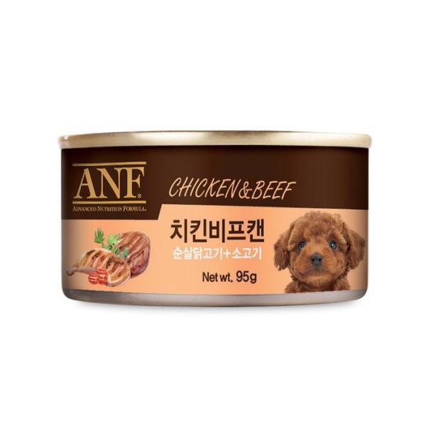 ANF 치킨비프캔95g 강아지캔간식
