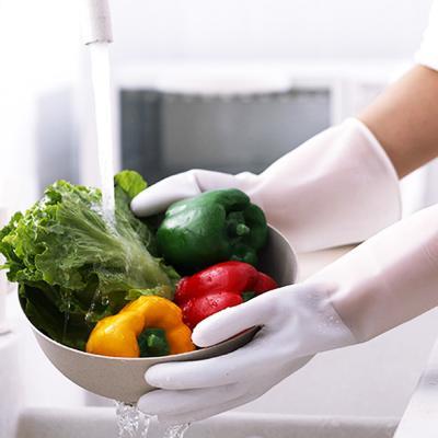 미끄럼방지 설거지 청소 요리 주방 고무 장갑