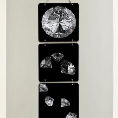 nm380-멀티아크릴액자_블랙다이아몬드(4단소형)