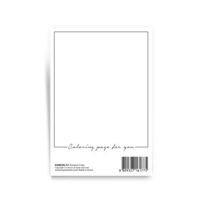 컬러링 엽서 - 드림캐처
