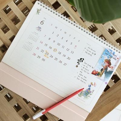 2020 빨간머리앤 탁상용 빅 스케줄러(월간/날짜형/A4)