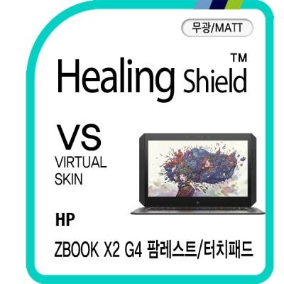 HP ZBOOK X2 G4 팜레스트/터치패드 매트 보호필름 2매
