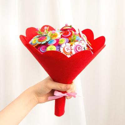 펠트 사탕꽃다발 초등만들기