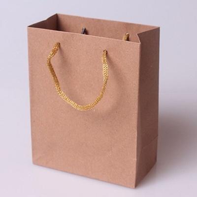 무지 고급 기본 크라프트 종이 쇼핑백 선물 포장 1호
