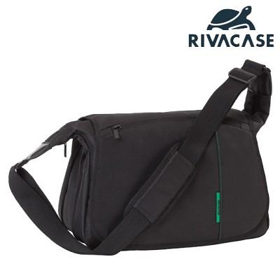 SLR 카메라 가방 RIVACASE 7450 (분리 가능한 패딩 칸막이 / 메신저 타입)