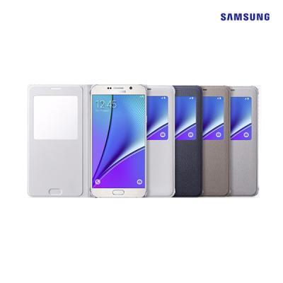 [SAMSUNG]삼성정품 갤럭시 노트5 S View 에스뷰 커버(PU)
