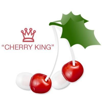 체리모양 커널형 이어폰 Cherry King