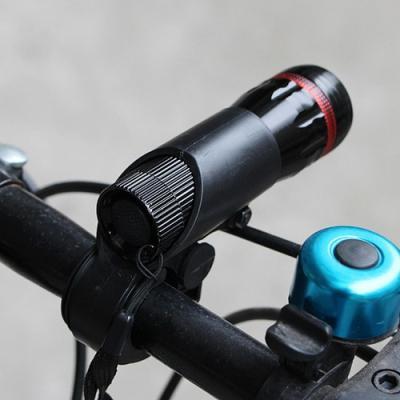 아웃도어 캠핑 정면 자전거 안전등1개(색상랜덤)