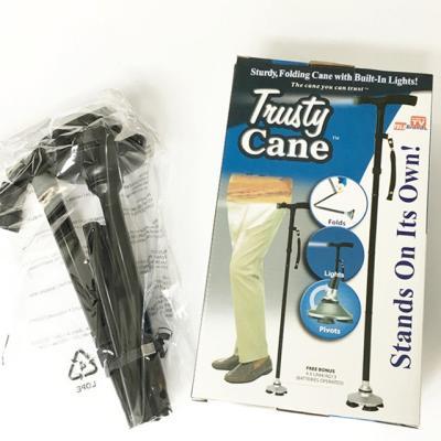 접이식 LED 지팡이 효도 노인지팡이