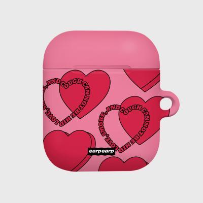 Love Love Love-pink(Hard air pods)