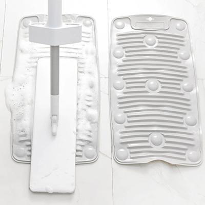 흡착식 미끄럼방지 실리콘 휴대용 미니 손빨래 빨래판