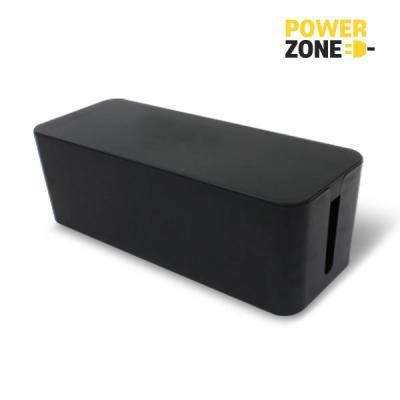 [파워존] 케이블박스 멀티탭전선/대형/블랙