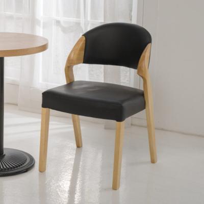 DD060 인테리어의자 디자인체어 PU 원목의자