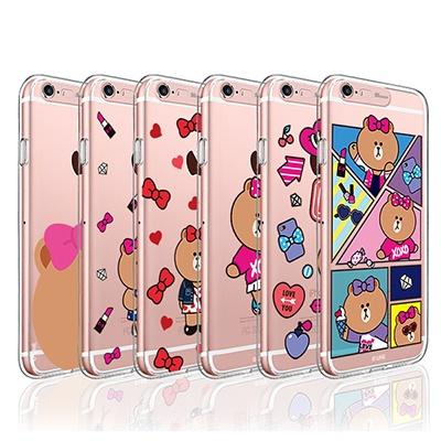 라인프렌즈 iPhone6(s)/6(s) Plus 라이팅케이스 소프트