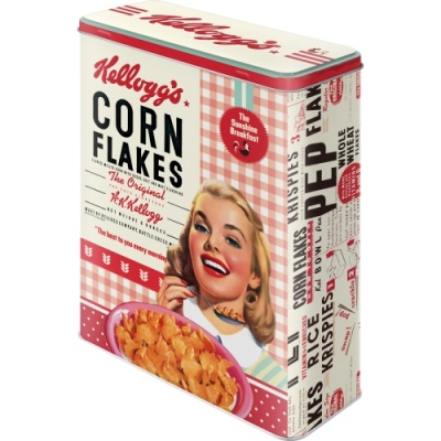 [30324] Kellogg's - Girl Corn Flakes Collage