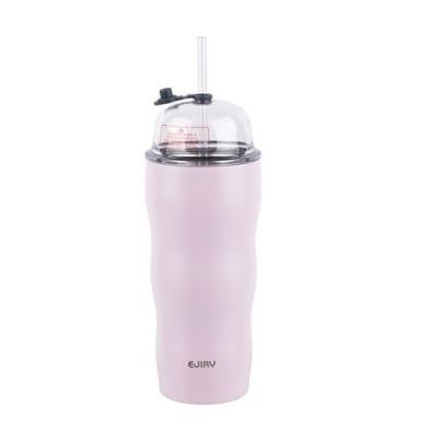 에지리 토핑 텀블러-핑크 라벤더 500mL 빨대포함