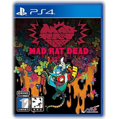 PS4 매드 래트 데드 한글판