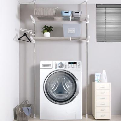 세탁기접이식슬라이드선반2단