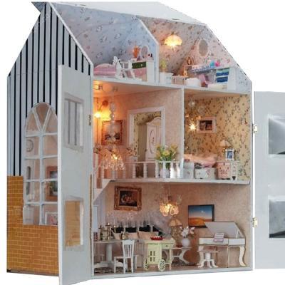 [adico]DIY미니어처 풀하우스 - 럭셔리 3층집
