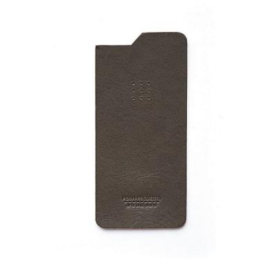504 아이폰6 & 6플러스 가죽스킨 (charcoal)