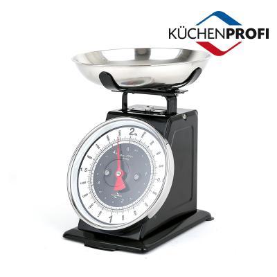 쿠첸프로피 주방저울 2kg 블랙