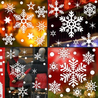 제제데코 크리스마스 눈꽃 스티커 장식 CMS4J104