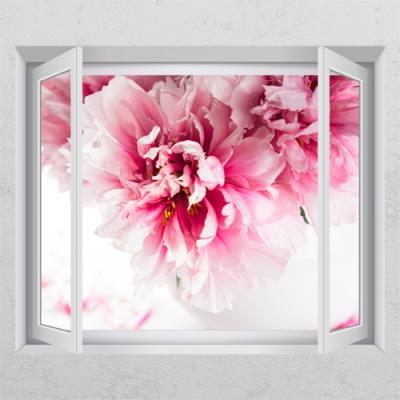 ps352-부귀를나타내는작약꽃_창문그림액자