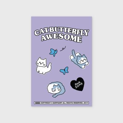 Awesome chichi-purple(엽서)