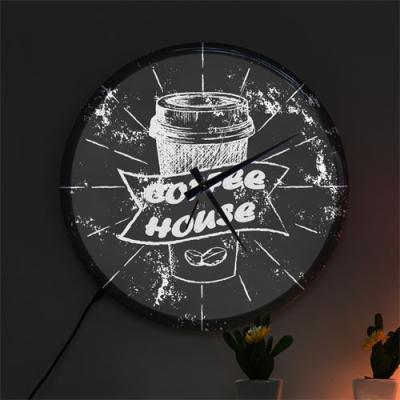 ng542-LED시계액자35R_커피하우스