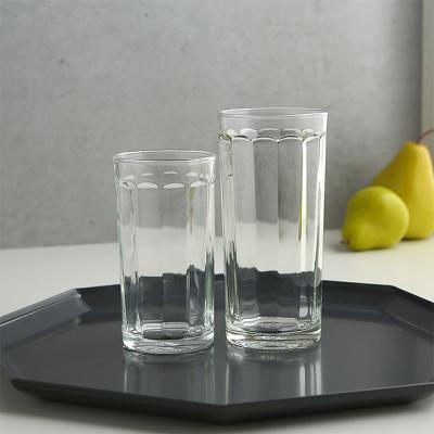 럭키글라스 로마텀블러 유리컵 250ml