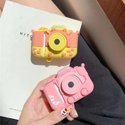 에어팟 1/2/3 프로 커플 파스텔 카메라 실리콘 케이스