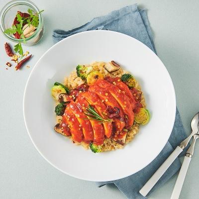 [행사상품][굽네]소스가 맛있는 닭가슴살 슬라이스 15팩 맛보기